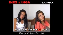 Watch our casting video of Inga And Ines. Pierre Woodman fuck Inga And Ines, Latvian girl, in this video.