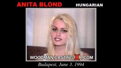 Casting of ANITA BLOND video