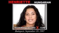 Casting of HENRIETTE video