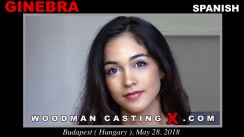 Check out this video of Ginebra Bellucci having an audition. Pierre Woodman fuck Ginebra Bellucci, Spanish girl, in this video.