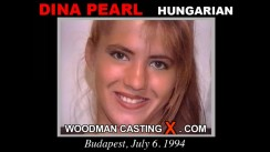 Casting of DINA PEARL video