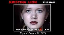 Casting of KRISTINA LION video