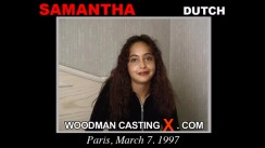 Look at Samantha getting her porn audition. Erotic meeting between Pierre Woodman and Samantha, a Dutch girl.