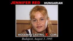 Download Jennifer Red casting video files. Pierre Woodman undress Jennifer Red, a Hungarian girl.