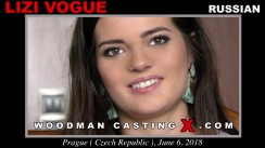 Casting of LIZI VOGUE video