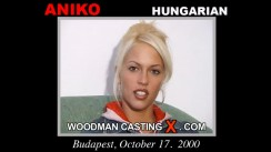 Look at Aniko getting her porn audition. Erotic meeting between Pierre Woodman and Aniko, a Hungarian girl.