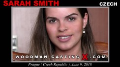 Look at Sarah Smith getting her porn audition. Erotic meeting between Pierre Woodman and Sarah Smith, a Czech girl.