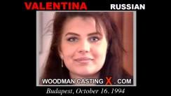 Casting of VALENTINA video