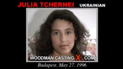 Casting of JULIA TCHERNEI video