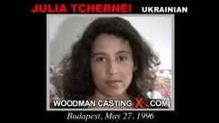 Casting of JULIA TCHERNEI video