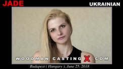 Download Jade  casting video files. Pierre Woodman undress Jade , a Ukrainian girl.