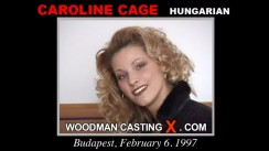 Casting of CAROLINE CAGE video