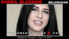 Access Sheril Blossom casting in streaming. A Belarusian girl, Sheril Blossom will have sex with Pierre Woodman.