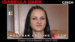 Look at Isabella Dark getting her porn audition. Erotic meeting between Pierre Woodman and Isabella Dark, a Czech girl.