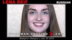Access Lena Reif casting in streaming. A Russian girl, Lena Reif will have sex with Pierre Woodman.