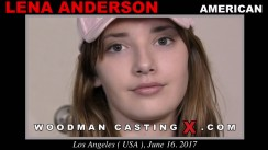 Download Lena Anderson casting video files. Pierre Woodman undress Lena Anderson, a American girl.