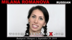 Watch our casting video of Milana Romanova. Pierre Woodman fuck Milana Romanova, Russian girl, in this video.