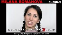 Casting of MILANA ROMANOVA video