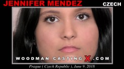 Download Jennifer Mendez casting video files. A Czech girl, Jennifer Mendez will have sex with Pierre Woodman.