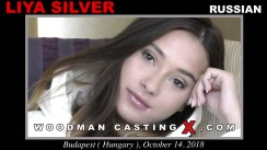 Look at Liya Silver  getting her porn audition. Erotic meeting between Pierre Woodman and Liya Silver , a Russian girl.