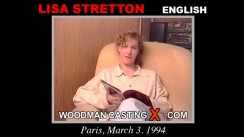Casting of LISA STRETTON video
