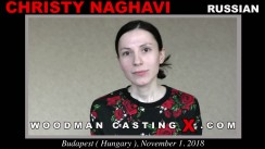 Casting of CHRISTY NAGHAVI video