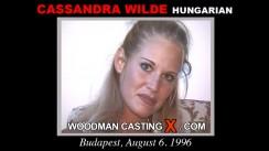 Casting of CASSANDRA WILDE video