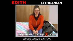 Casting of EDITH video
