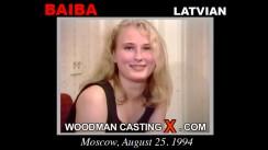 Casting of BAIBA video
