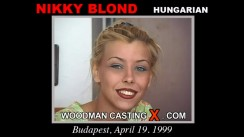 Casting of NIKKY BLOND video