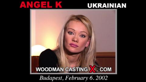 Angel woodman casting Woodman casting