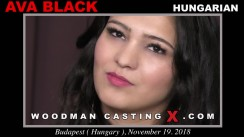 Casting of AVA BLACK video