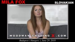 Casting of MILA FOX video