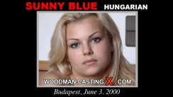 Casting of SUNNY BLUE video