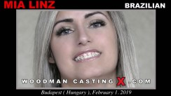 Download Mia Linz casting video files. A Brazilian girl, Mia Linz will have sex with Pierre Woodman.