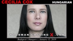 Watch Cecilia Cox first XXX video. Pierre Woodman undress Cecilia Cox, a Hungarian girl.