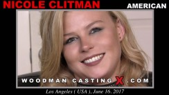Download Nicole Clitman casting video files. Pierre Woodman undress Nicole Clitman, a American girl.