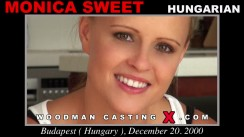 Casting of MONICA SWEET video