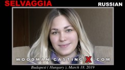 Access Selvaggia casting in streaming. Pierre Woodman undress Selvaggia, a Russian girl.