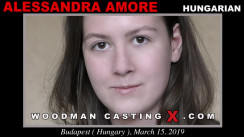 Check out this video of Alessandra Amore having an audition. Pierre Woodman fuck Alessandra Amore, Hungarian girl, in this video.