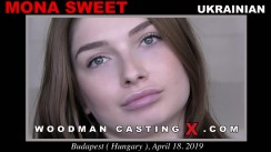 Check out this video of Mona Sweet having an audition. Erotic meeting between Pierre Woodman and Mona Sweet, a Ukrainian girl.