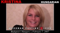Watch Kristina first XXX video. Pierre Woodman undress Kristina, a Hungarian girl.