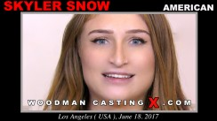 Check out this video of Skyler Snow having an audition. Erotic meeting between Pierre Woodman and Skyler Snow, a American girl.