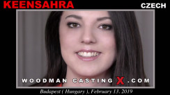 Look at Keensahra getting her porn audition. Pierre Woodman fuck Keensahra, Czech girl, in this video.