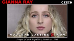 Casting of GIANNA RAY video
