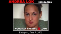 Casting of ANDREA LOK video