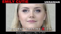 Casting of EMILY CUTIE video