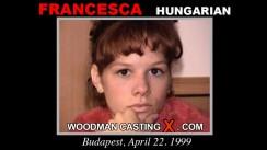 Casting of FRANCESCA video