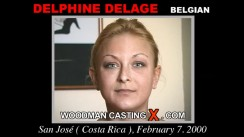 Casting of DELPHINE DELAGE video