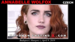 Access Annabelle Wolfox casting in streaming. A Czech girl, Annabelle Wolfox will have sex with Pierre Woodman.